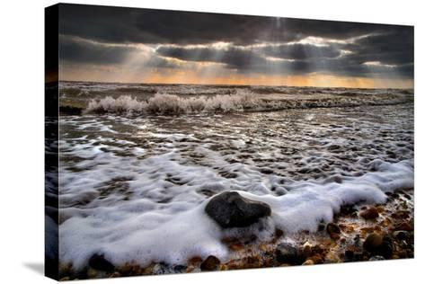 On the Rocks-Adrian Campfield-Stretched Canvas Print