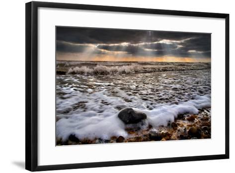 On the Rocks-Adrian Campfield-Framed Art Print