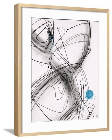 Timing I-Rikki Drotar-Framed Art Print