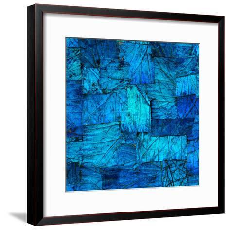 Tapestry in Blue-Doug Chinnery-Framed Art Print