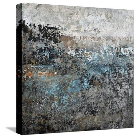 Shades of Blue I-Alexys Henry-Stretched Canvas Print