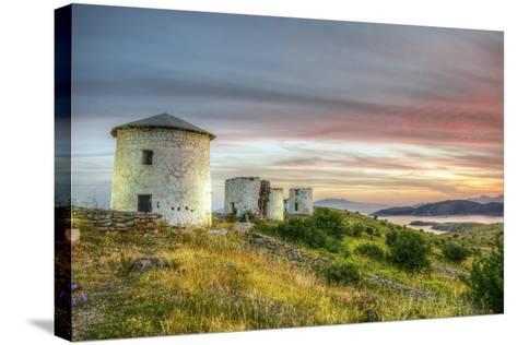 Sunset in Bodrum, Turkey-Nejdet Duzen-Stretched Canvas Print