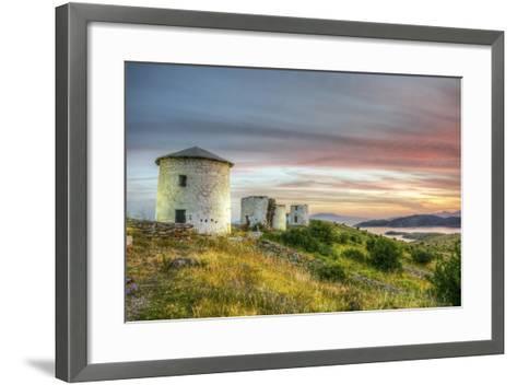 Sunset in Bodrum, Turkey-Nejdet Duzen-Framed Art Print