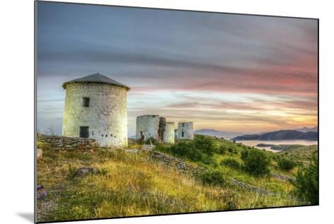Sunset in Bodrum, Turkey-Nejdet Duzen-Mounted Photographic Print