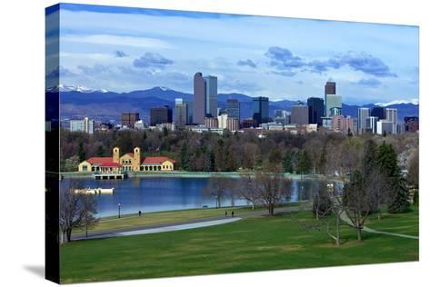 Springtime in Denver-Hansrico Photography-Stretched Canvas Print