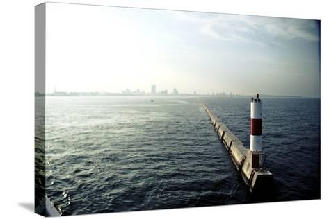 Milwaukee Harbor-Chad VanWalsum-Stretched Canvas Print