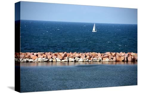 Lake Michigan-Luiz Felipe Castro-Stretched Canvas Print