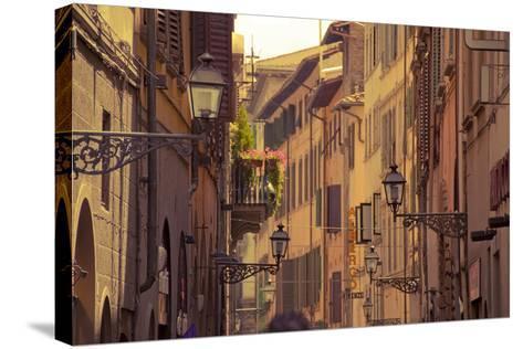 Streets of Florence-Tjarko Evenboer / The Netherlands-Stretched Canvas Print