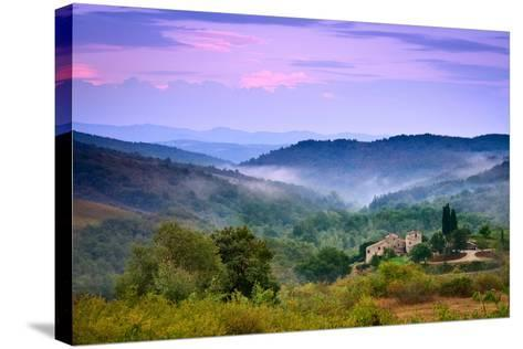 Mountains-Christian Wilt-Stretched Canvas Print