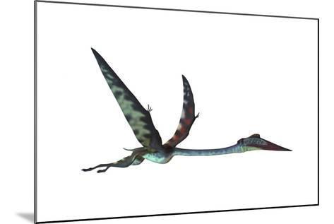 Quetzalcoatlus Predatory Pterosaur--Mounted Art Print