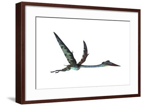 Quetzalcoatlus Predatory Pterosaur--Framed Art Print