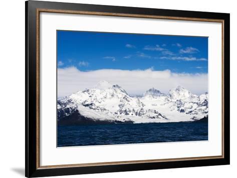 South Georgia Landscape--Framed Art Print