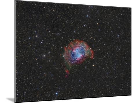 Messier 27, the Dumbbell Nebula--Mounted Photographic Print