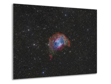 Messier 27, the Dumbbell Nebula--Metal Print