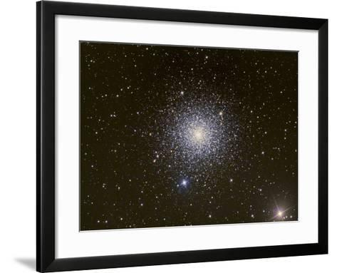 Messier 3, a Globular Cluster in the Constellation Canes Venatici--Framed Art Print