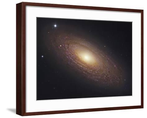 Ngc 2841, Spiral Galaxy in Ursa Major--Framed Art Print