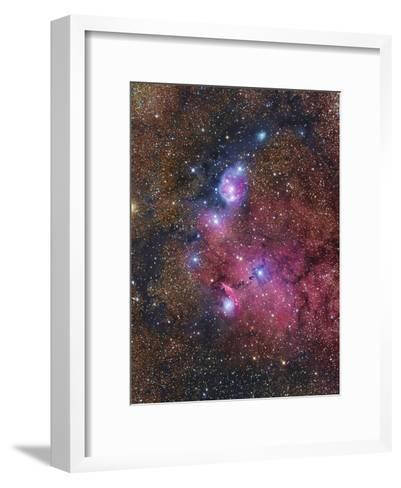 Ngc 6559 Emission and Reflection Nebulosity in Sagittarius--Framed Art Print