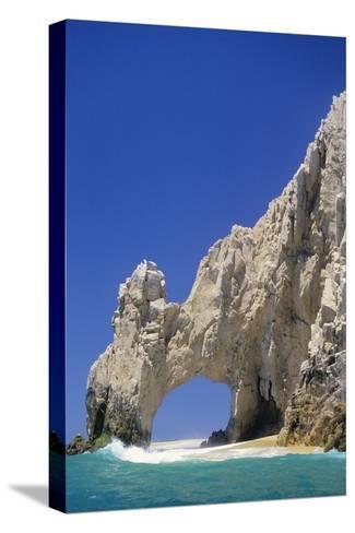El Arco, Sea Arch at Cabo San Lucas-Kerrick James-Stretched Canvas Print