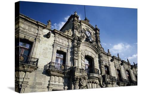 Guadalajara's Palacio De Gobierno-Danny Lehman-Stretched Canvas Print