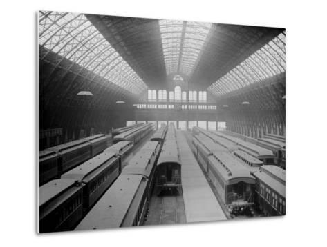 Interior of Grand Central Station--Metal Print