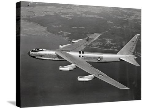 US Airforce 8 Jet B-52 Stratofortress Flying--Stretched Canvas Print