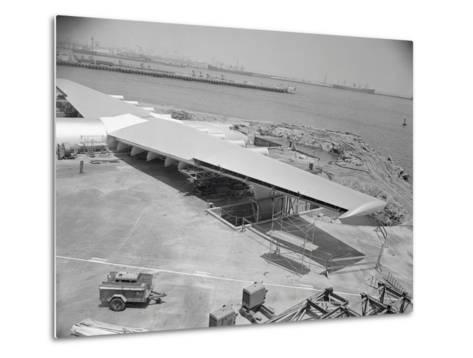 Howard Hughes Spruce Goose Nearing Completion--Metal Print
