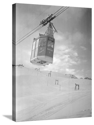 A Cable Railway-Gerhard P. Seinig-Stretched Canvas Print