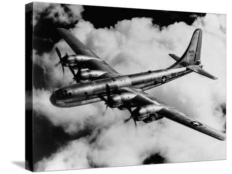 Boeing B-50A Superfortress in Flight--Stretched Canvas Print