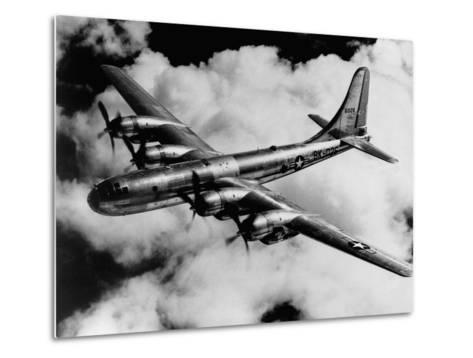 Boeing B-50A Superfortress in Flight--Metal Print