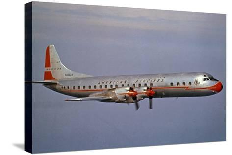 American Airlines Lockheed Electra Turbo-Prop 1966--Stretched Canvas Print