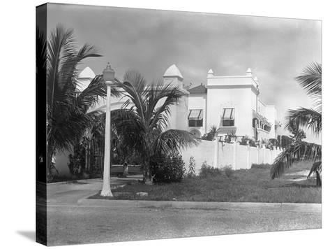 Exterior of Al Capone's Home--Stretched Canvas Print