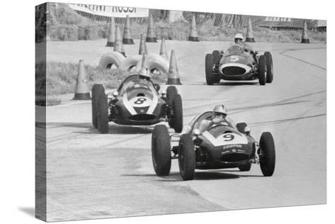 View of the Sebring 5-2 Mile Race--Stretched Canvas Print