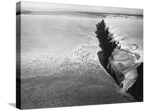 Peterman Glacier in Greenland--Stretched Canvas Print