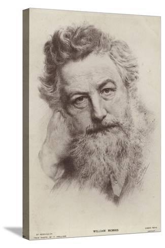 William Morris--Stretched Canvas Print
