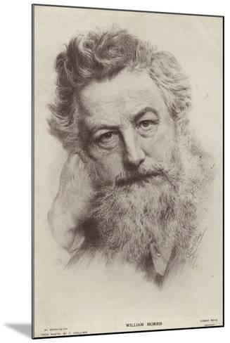 William Morris--Mounted Giclee Print