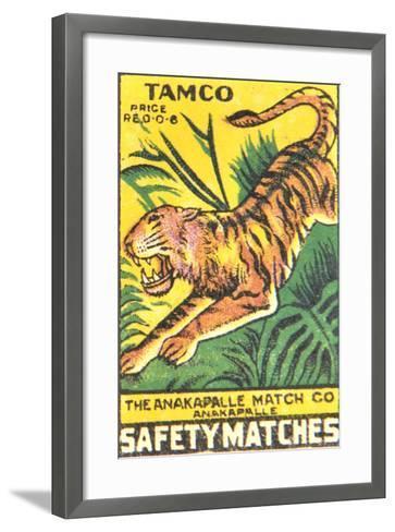 Matchbox Label--Framed Art Print