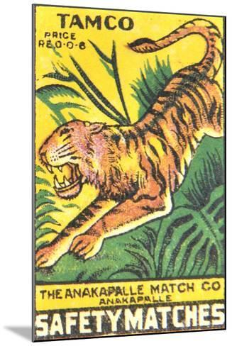 Matchbox Label--Mounted Giclee Print