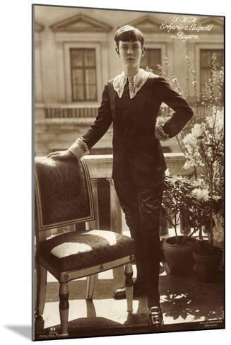 S.K.H. Erbprinz Luitpold Von Bayern Als Junge--Mounted Giclee Print
