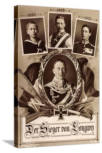 Kronprinz Friedrich Wilhelm, 1890, 1906, 1901,Longwy--Stretched Canvas Print