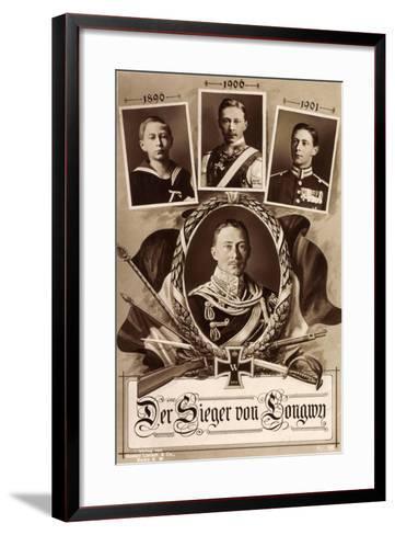 Kronprinz Friedrich Wilhelm, 1890, 1906, 1901,Longwy--Framed Art Print