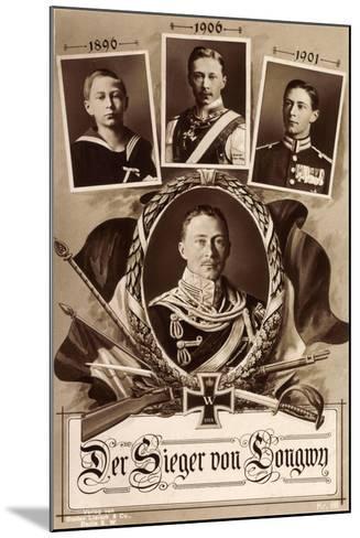Kronprinz Friedrich Wilhelm, 1890, 1906, 1901,Longwy--Mounted Giclee Print