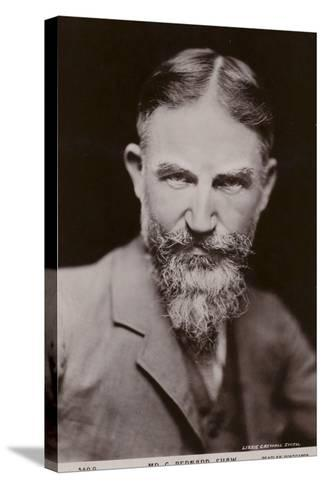 George Bernard Shaw--Stretched Canvas Print