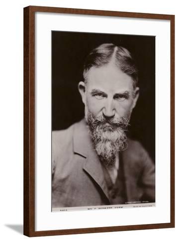 George Bernard Shaw--Framed Art Print