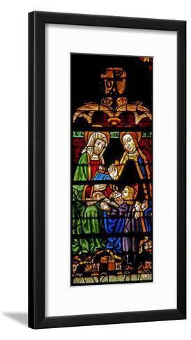 Window W132 Depicting Mary Salome?--Framed Art Print