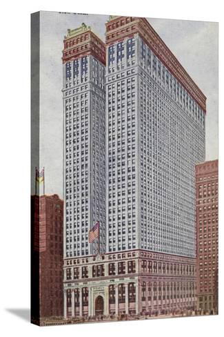 The Equitable Building, New York City, USA--Stretched Canvas Print