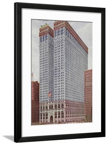 The Equitable Building, New York City, USA--Framed Art Print
