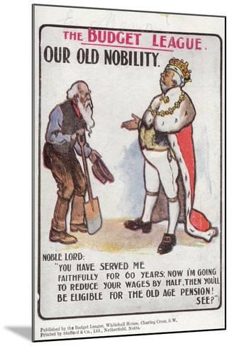 Our Old Nobility--Mounted Giclee Print
