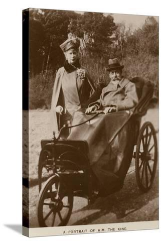 George V and Mary of Teck--Stretched Canvas Print