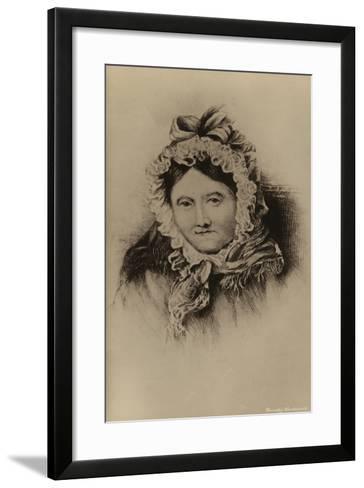 Dorothy Wordsworth--Framed Art Print