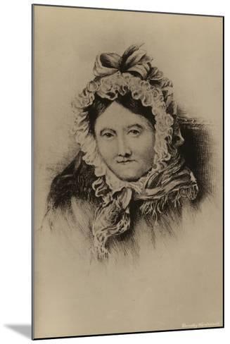 Dorothy Wordsworth--Mounted Giclee Print